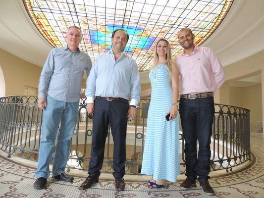 Durante encontro, Hugo de Oliveira reforçou a retomada dos projetos entre as duas cidades