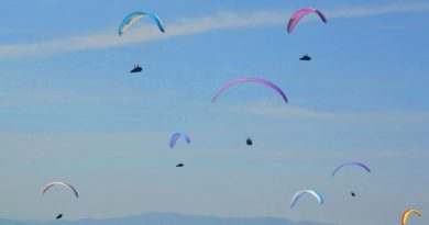 Pico do Gavião recebe Copa Mundial de Paraglider